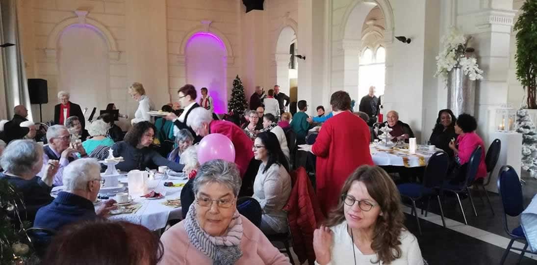 Terugblik op een 'Super Actief' 2018 en een ontmoetingsdag in kerstsfeer