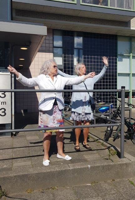 75 jaar vrijheid. Bevrijdingsdag bij de Poort van Kralingen Rotterdam