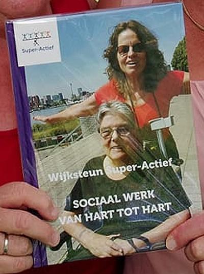 Bestel nu ons boek: Wijksteun Super-Actief <br>SOCIAAL WERK VAN HART TOT HART